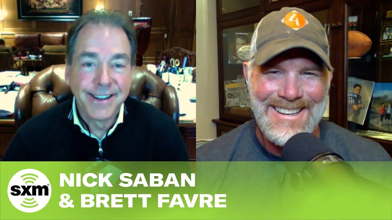 Brett Favre & Nick Saban Answer When Devonta Smith May Go in the Draft