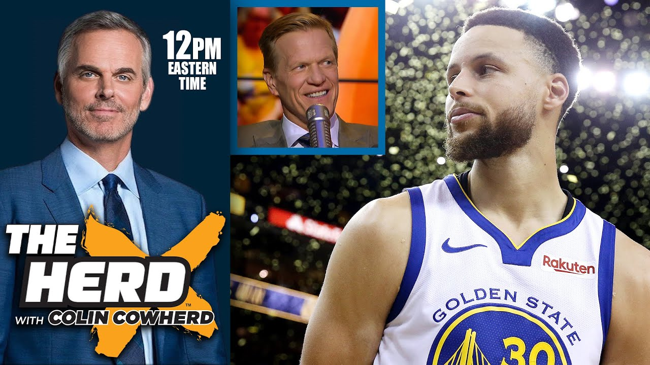 Colin Cowherd - I Don't Understand Why People Resent Steph Curry