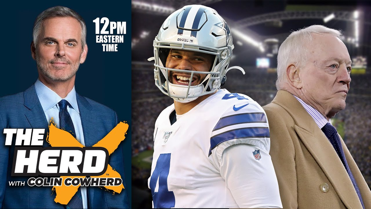 Colin Cowherd - The Good, Bad and Ugly of Dak Prescott's New Contract with Dallas