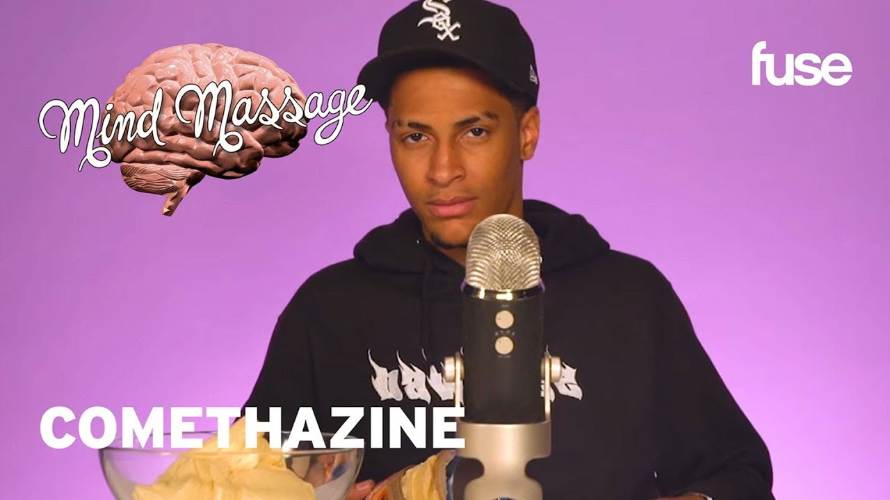 Comethazine Does ASMR with Pizza Dough And Cotton Balls, Shares His Life   Mind Massage   Fuse