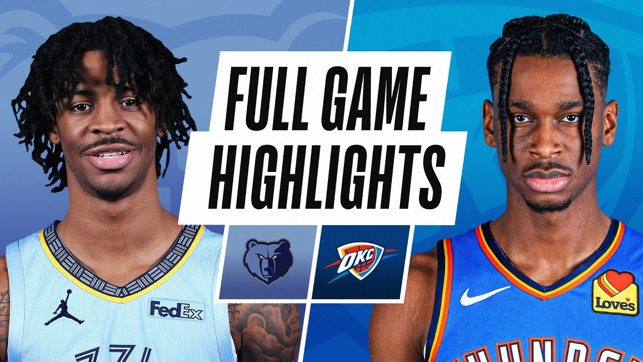 GRIZZLIES at THUNDER | FULL GAME HIGHLIGHTS | March 14, 2021