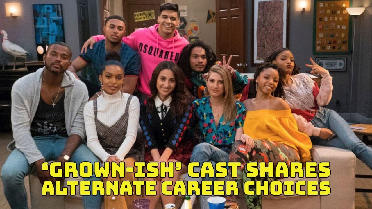 'Grown-ish' Cast Reveals What They Would Do If They Weren't Actors