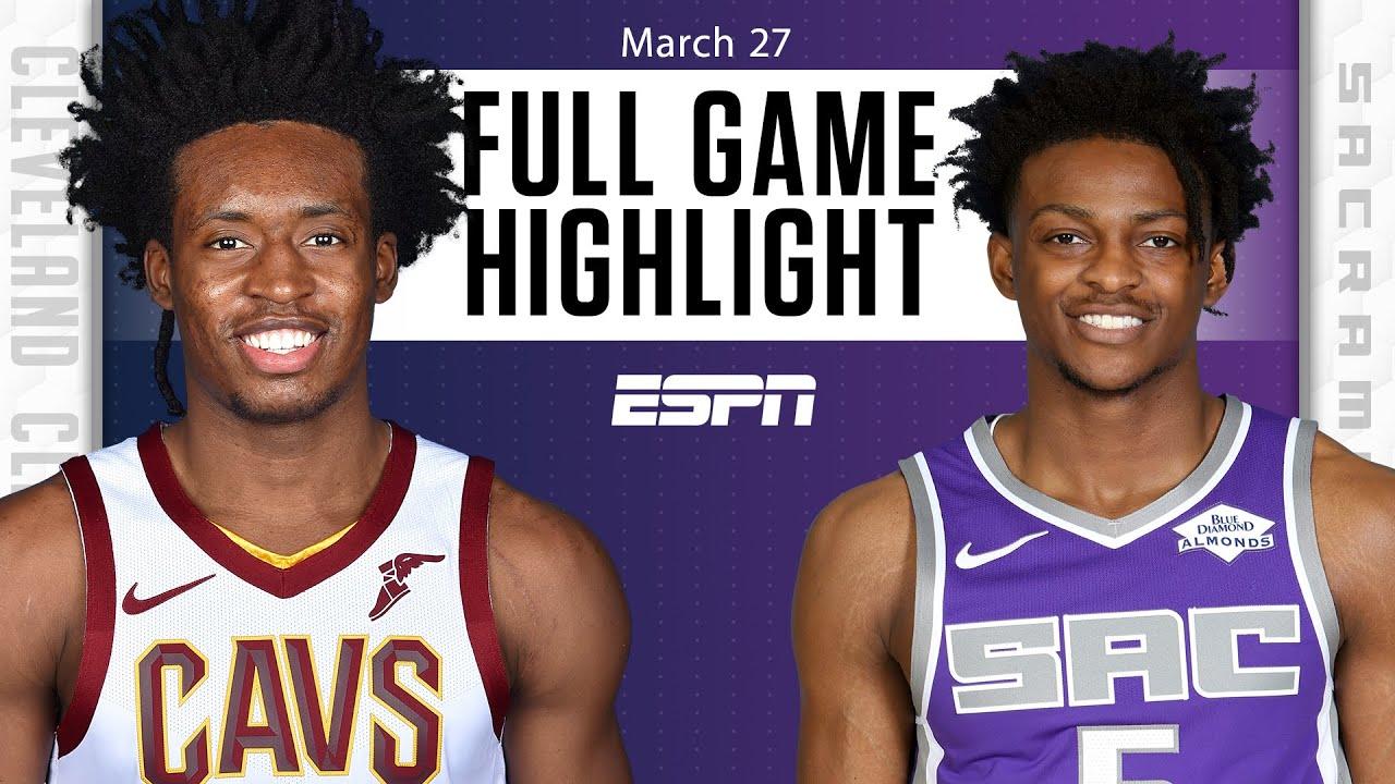 Harrison Barnes hits buzzer-beating 3 in Cavaliers vs. Kings [FULL GAME HIGHLIGHTS]   NBA on ESPN