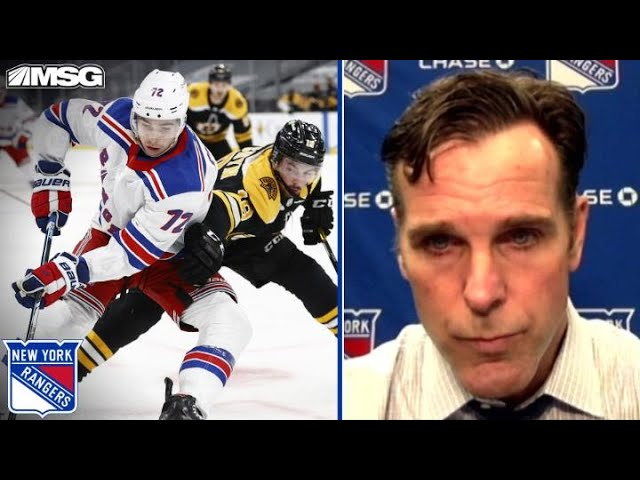 Is Quinn Troubled by Rangers' Lack of a Response Against Bruins?