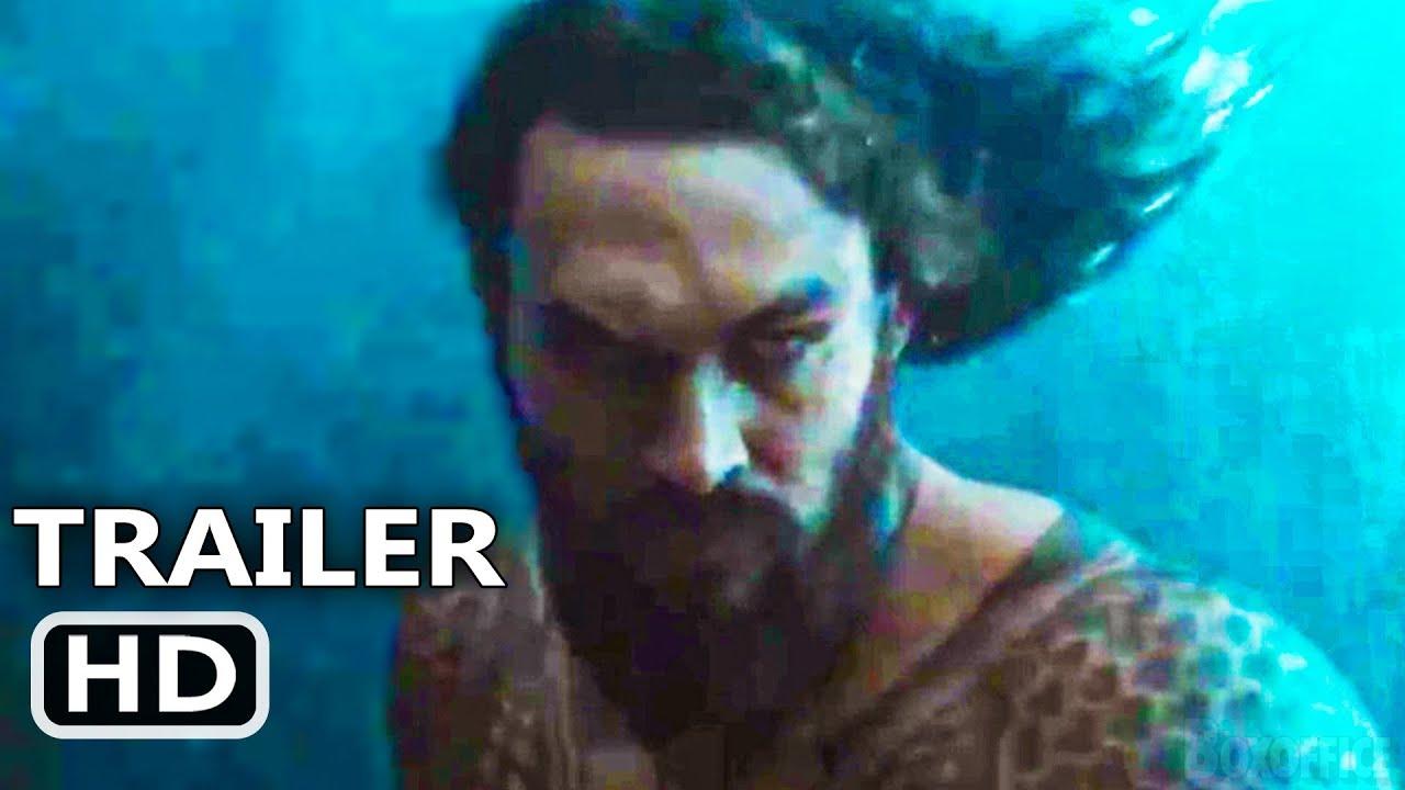 "JUSTICE LEAGUE ""Aquaman"" Trailer (NEW 2021) Snyder Cut, Jason Momoa"