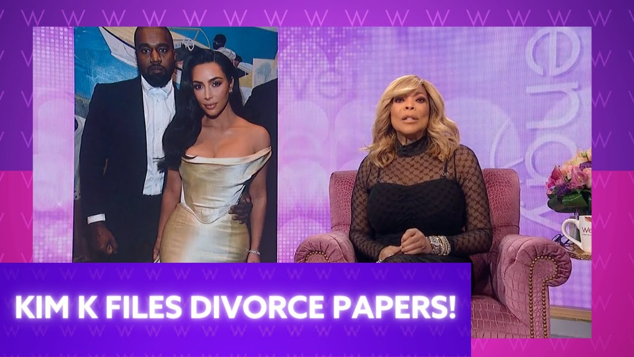 Kim Kardashian Files for Divorce!