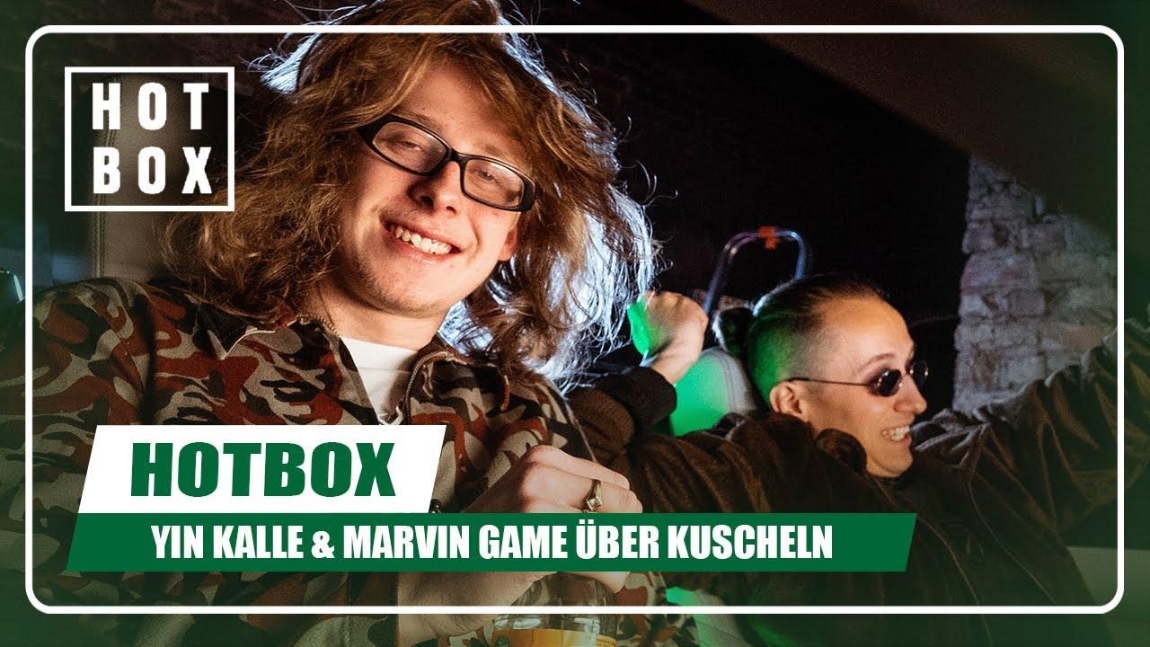 Kuscheltalk mit Yin Kalle und Marvin Game in der @HOTBOX   16BARS