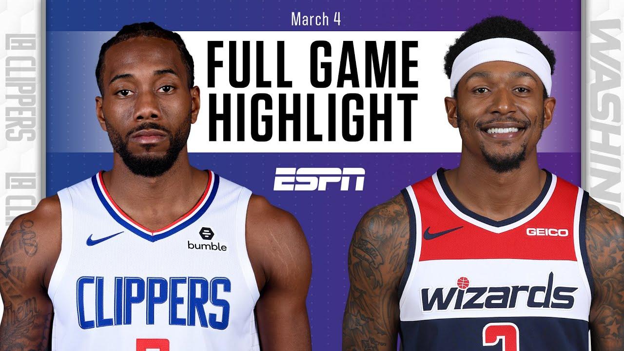 LA Clippers vs. Washington Wizards [FULL GAME HIGHLIGHTS] | NBA on ESPN