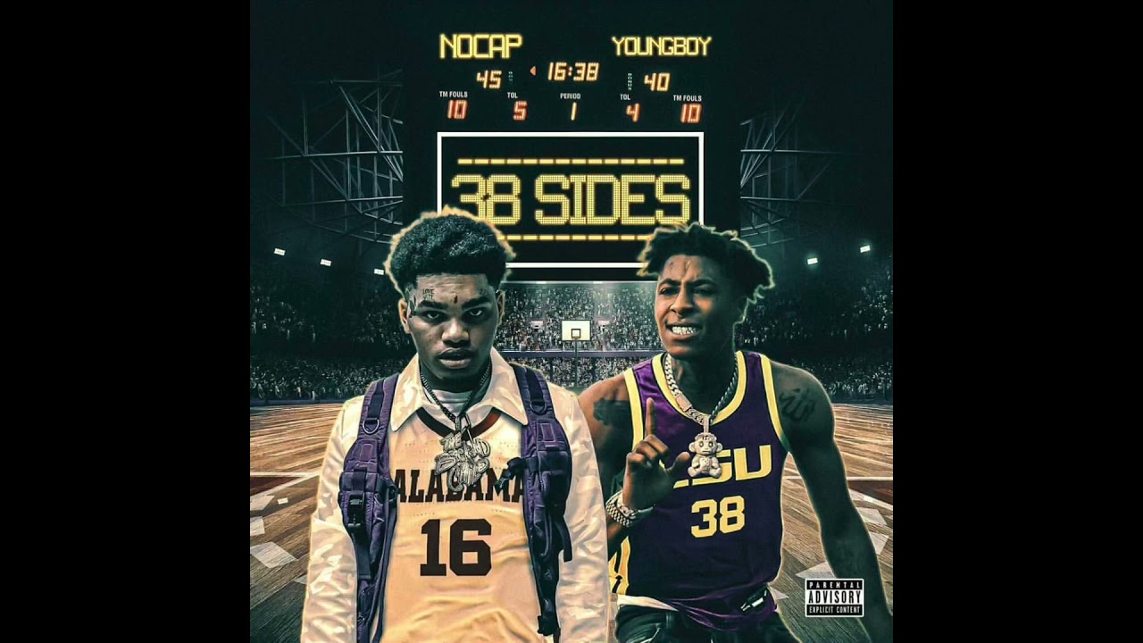 NoCap Ft NBA YoungBoy - 38Sides (Official Audio)