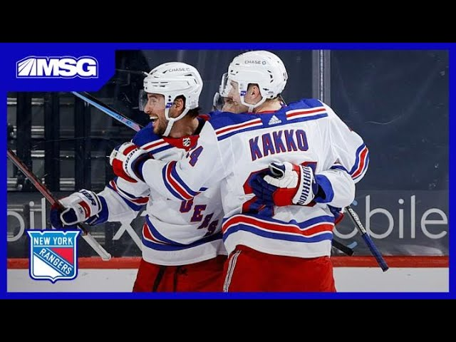 Panarin, Kakko Secure Big Shootout Win for Rangers Over Flyers