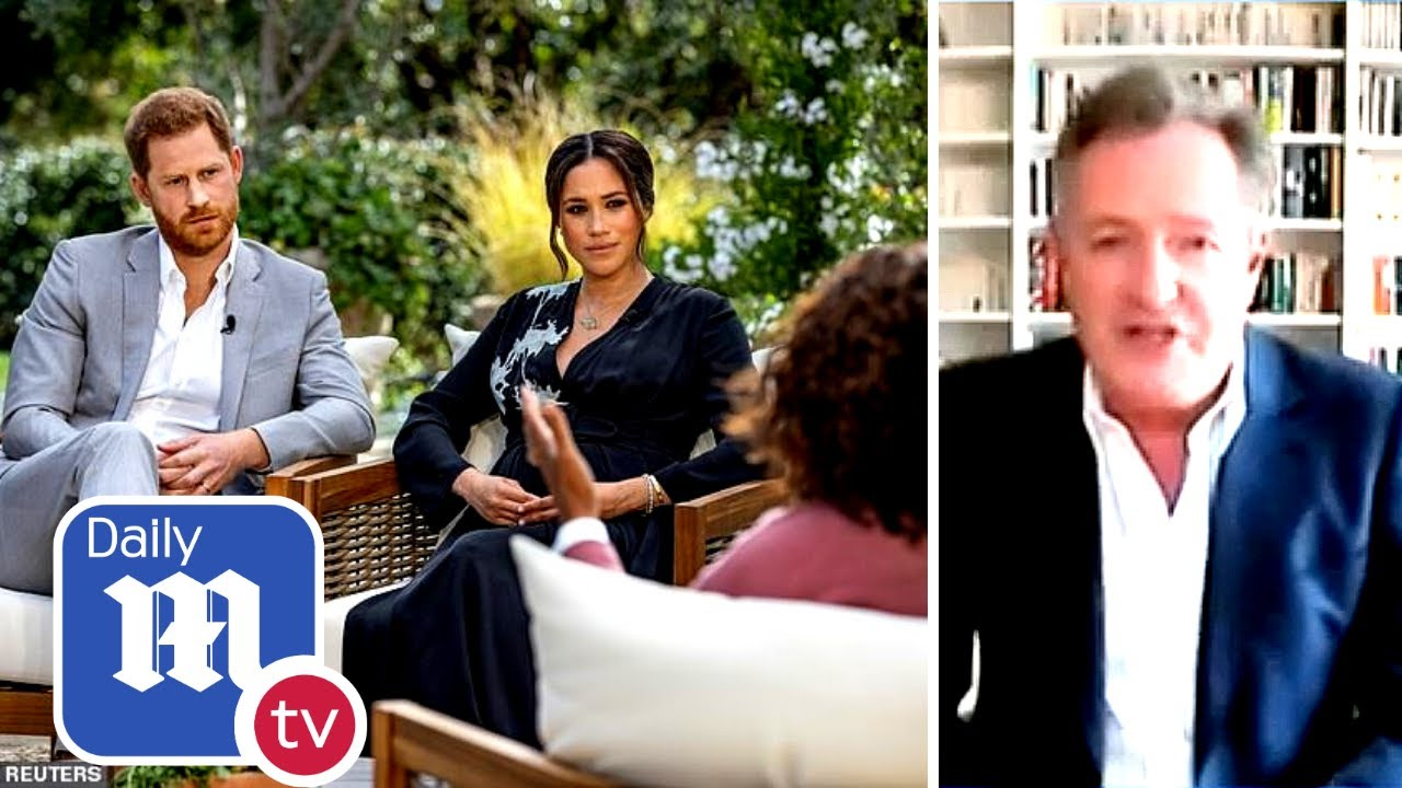 Piers Morgan slams Harry and Meghan's Oprah interview: 'An appalling series of smears'