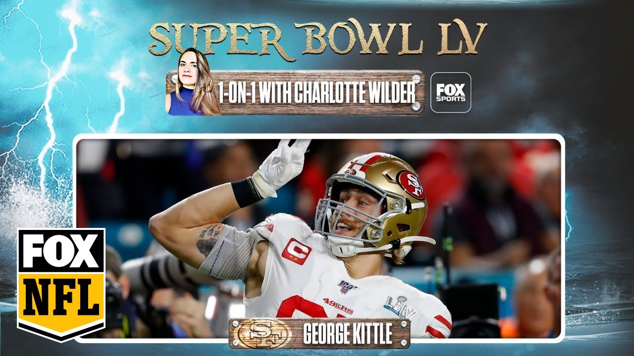 Rob Gronkowski or Travis Kelce? 49ers' George Kittle picks best tight end in Super Bowl LV | FOX NFL