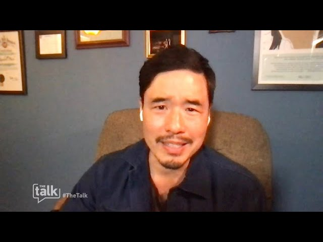 The Talk - Randall Park Learns He Was 'vaccinated against Covid' After Trial
