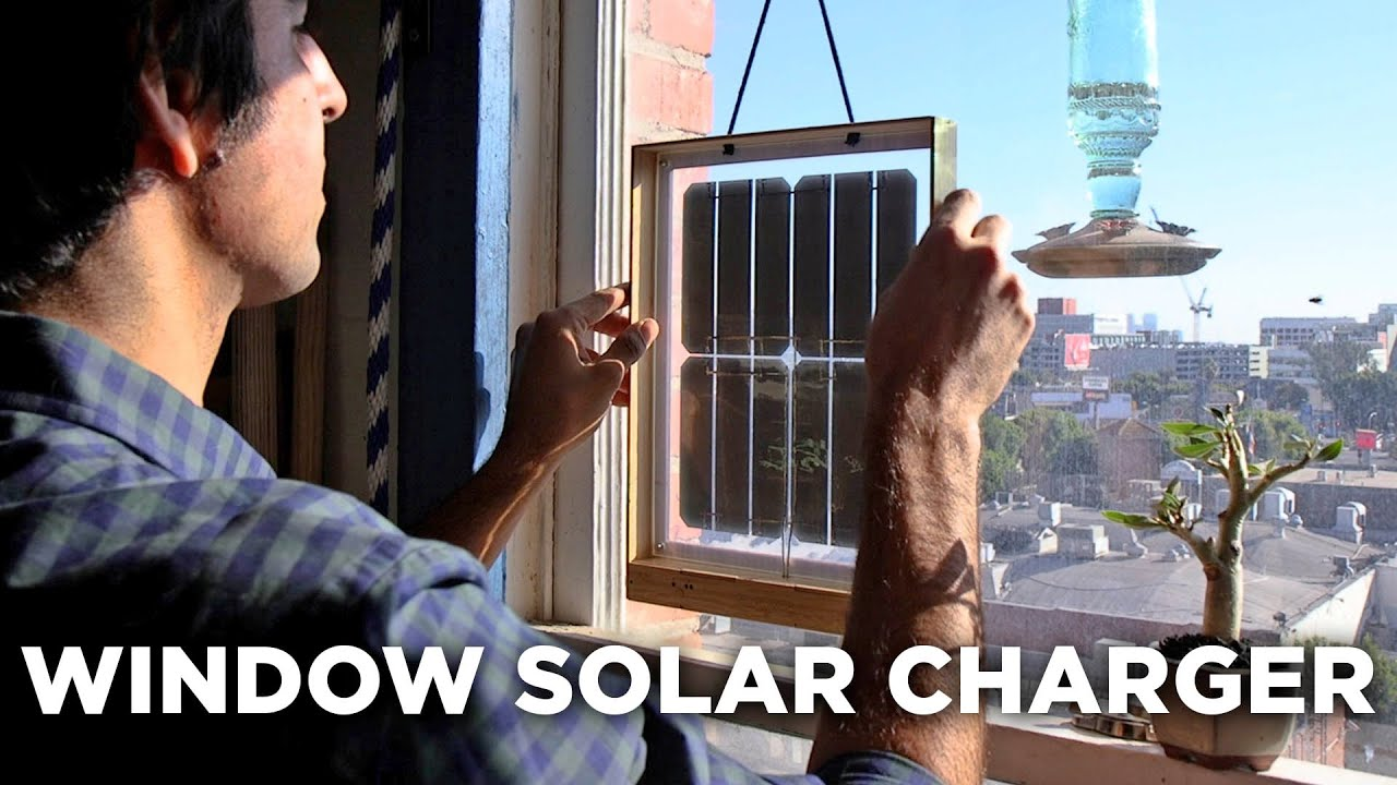 This Solar Charger Should Be In Everyone's Window