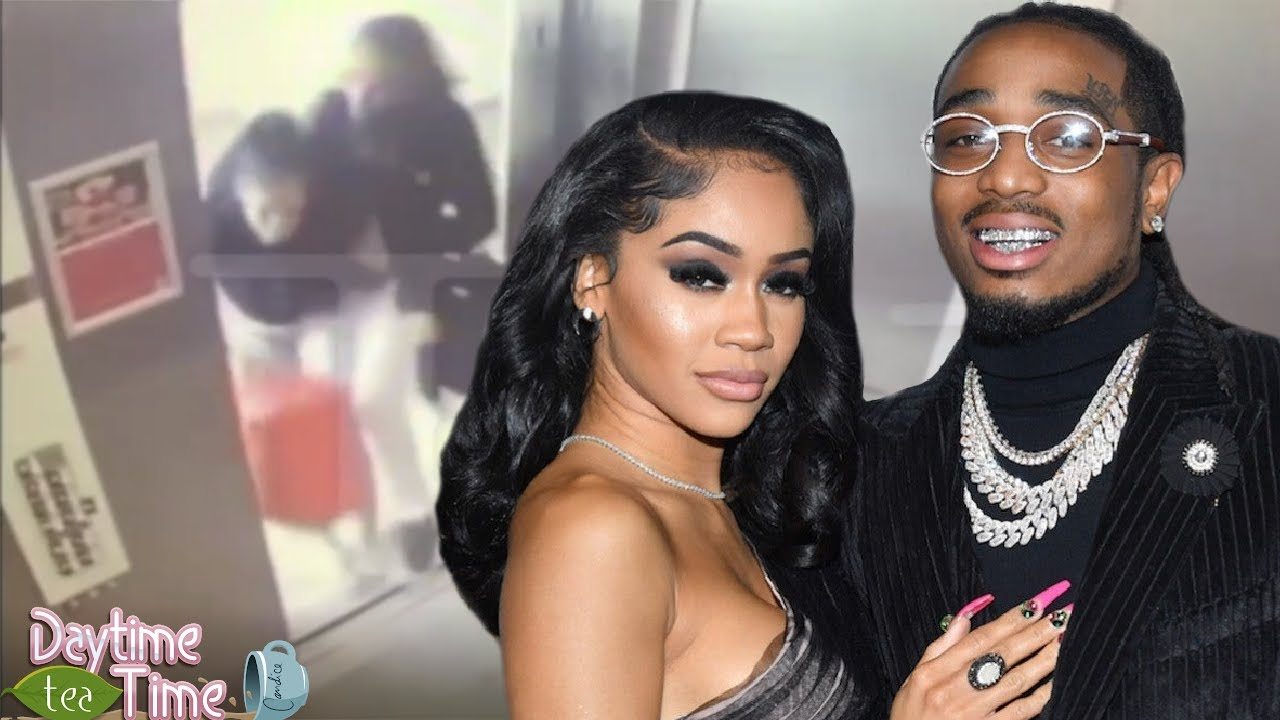 WHY Saweetie and Quavo GO AT IT in the elevator in NEW video footage + WHY they broke up!?