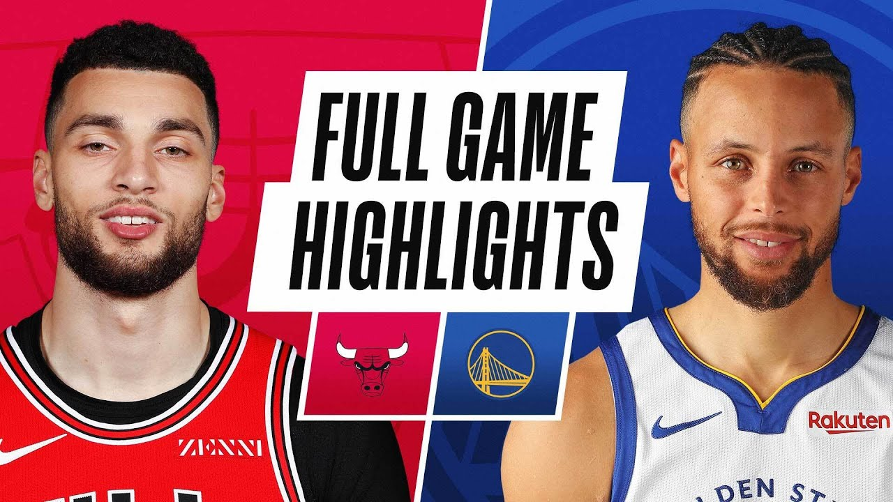 BULLS at WARRIORS | FULL GAME HIGHLIGHTS | March 29, 2021