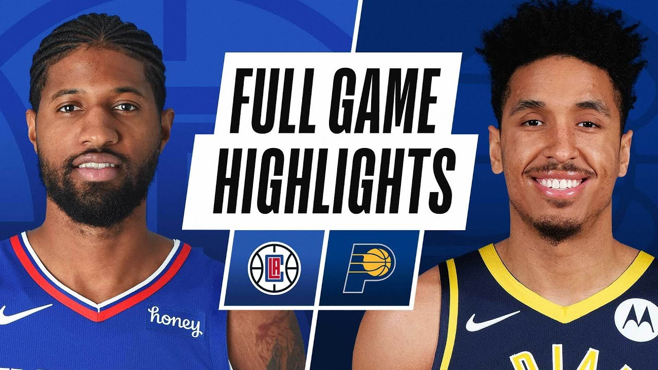 CLIPPERS at PACERS | FULL GAME HIGHLIGHTS | April 13, 2021