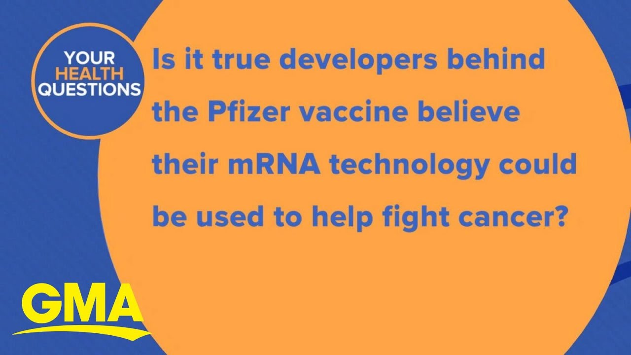 Could Pfizer mRNA technology help fight cancer?