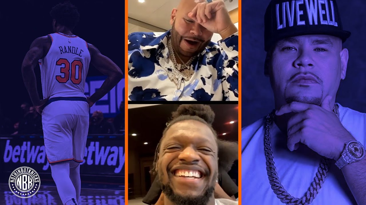 """Fat Joe interviews Julius Randle and anoints him the """"King of New York"""""""