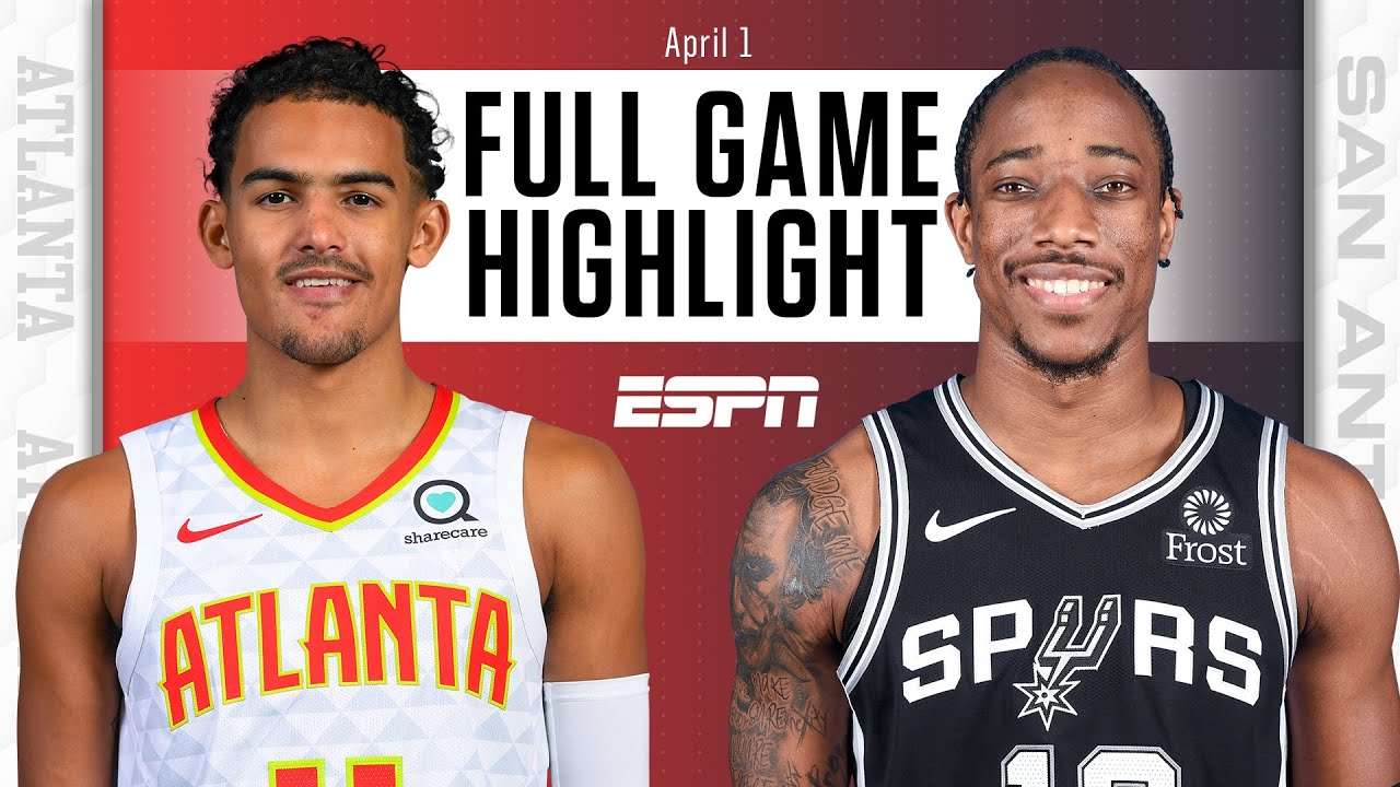 Hawks and Spurs battle in 2OT epic [FULL GAME HIGHLIGHTS] | NBA on ESPN
