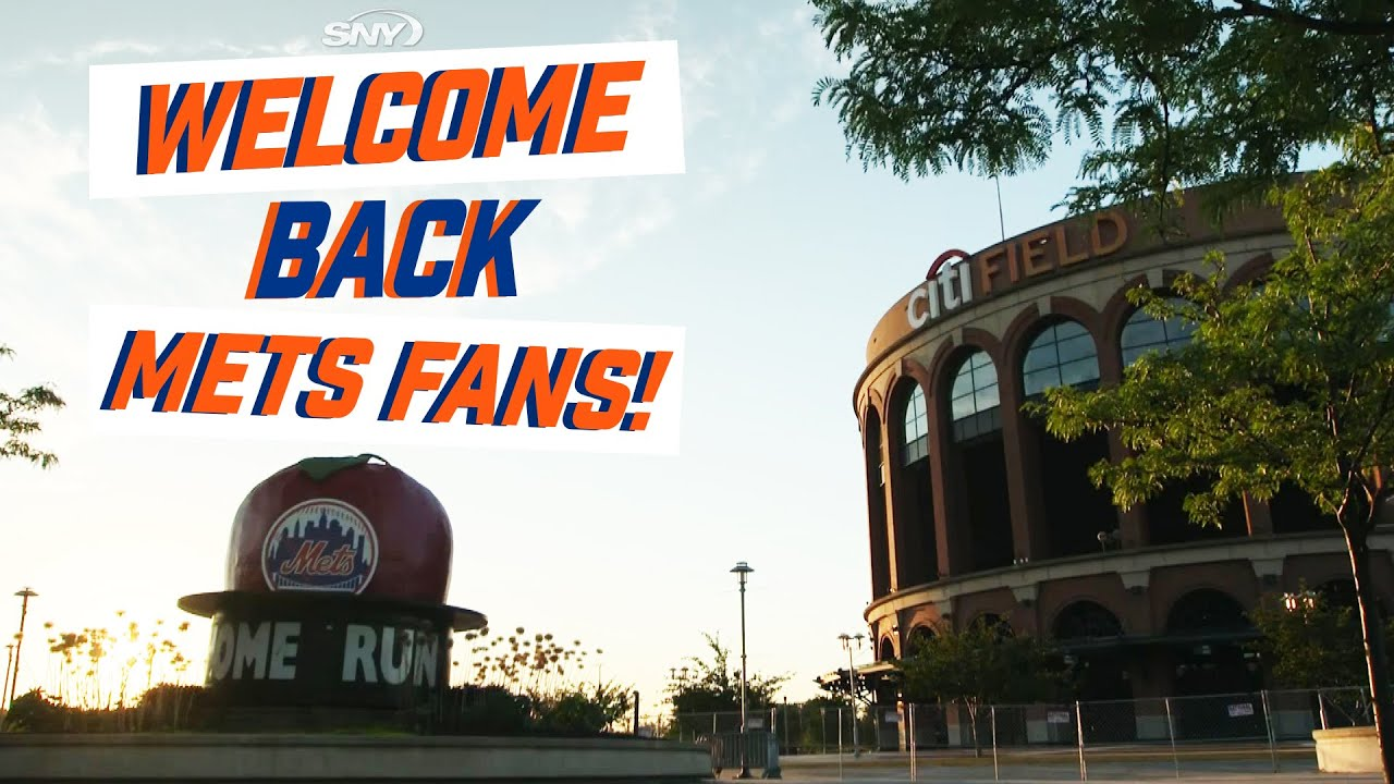 Hey Mets fans, welcome back to Citi Field | New York Mets | SNY