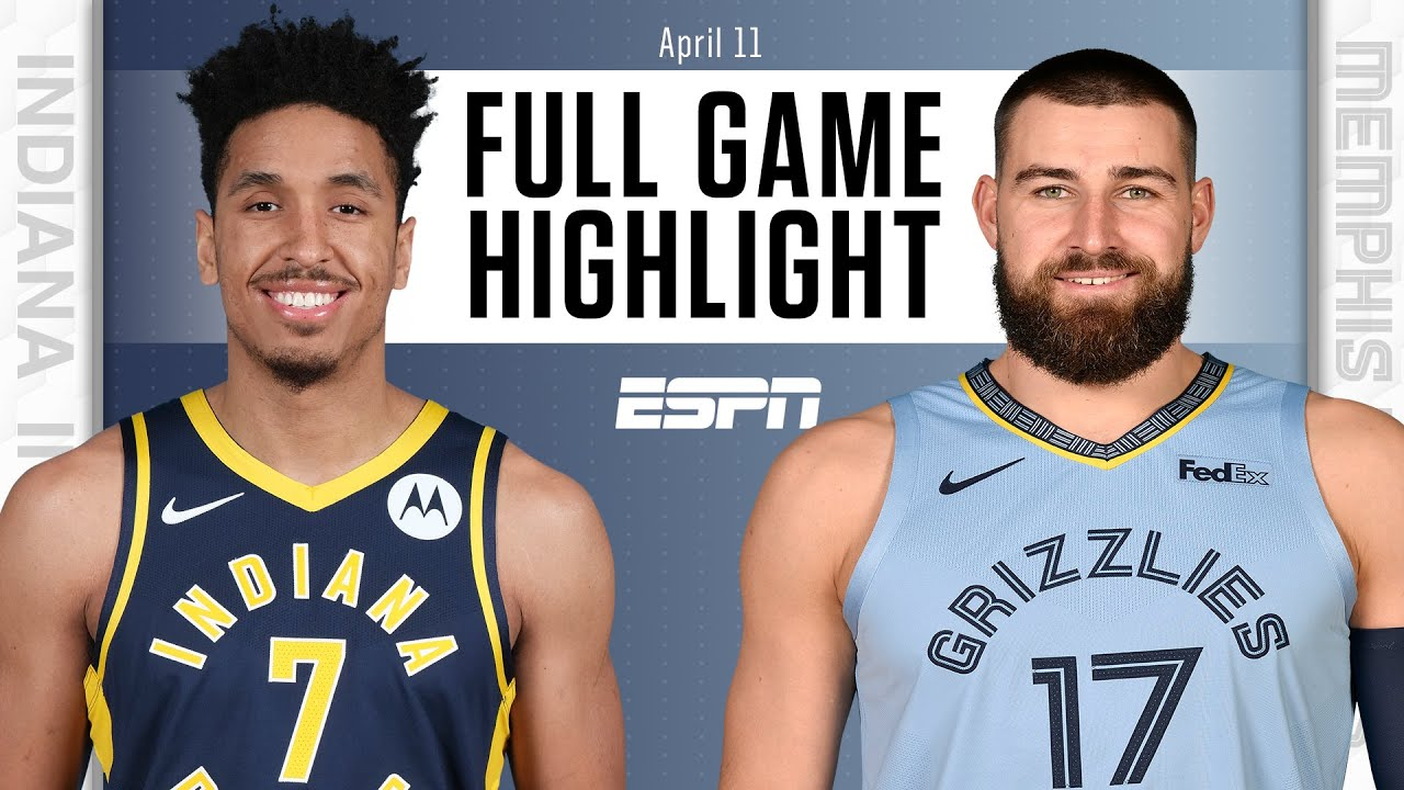 Indiana Pacers at Memphis Grizzlies   Full Game Highlights