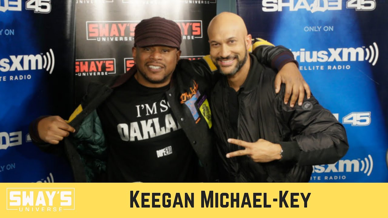 Keegan-Michael Talks 'History of Sketch Comedy' Podcast on Audible Plus | SWAY'S UNIVERSE
