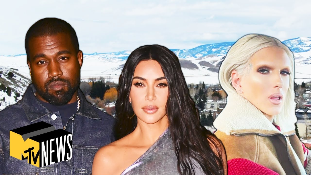 Kim Kardashian, Kanye West, & More Celebs Moving to Wyoming | Pop Factor