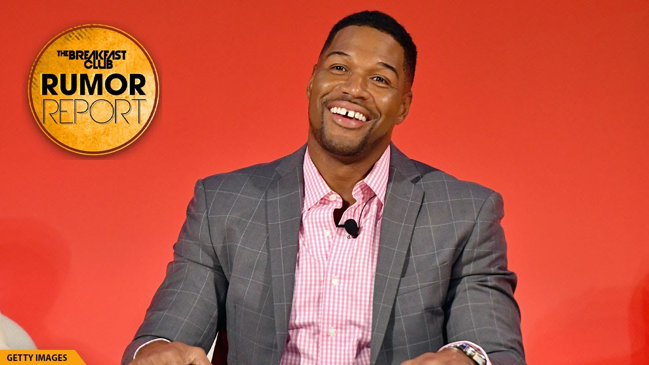Michael Strahan Didn't Actually Close His Gap Teeth, DJ Quik Jokes That He Got Shot For April Fools