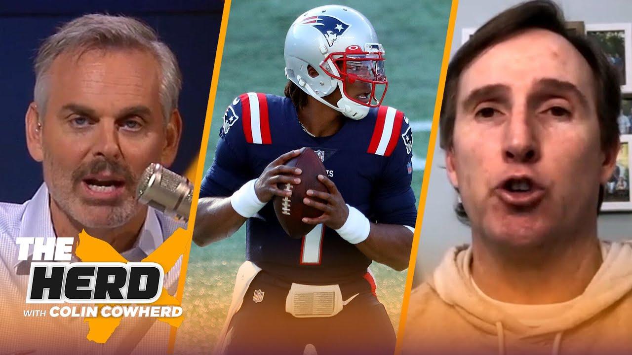 Patriots re-signing Cam Newton; Insider Tom Curran reacts, talks salary cap & NFL Draft | THE HERD
