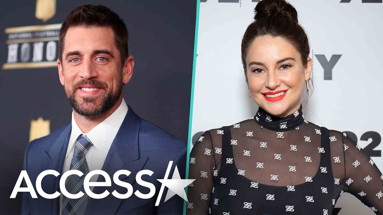Shailene Woodley Teases Aaron Rodgers In Rare Video