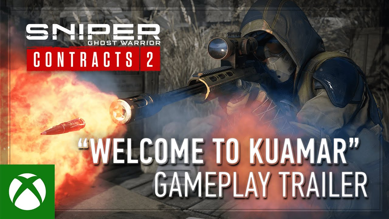 Sniper Ghost Warrior Contracts 2 - 'Welcome to Kuamar' Gameplay Trailer (2021)