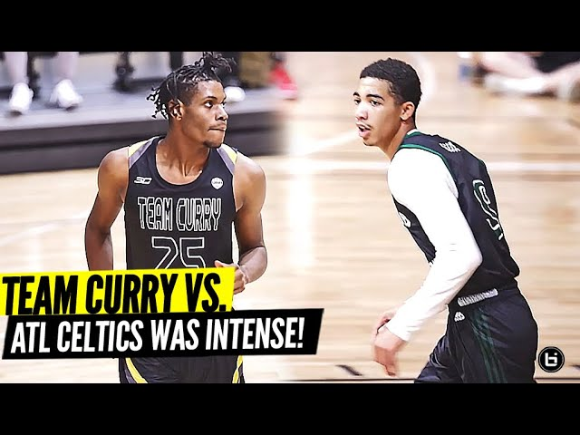 STEPH CURRY'S AAU TEAM VS ATLANTA CELTIC WAS INTENSE!! FULL HIGHLIGHTS