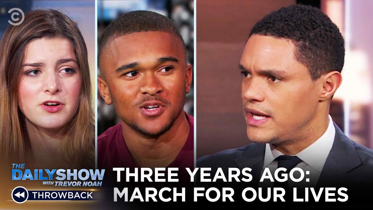 Three Years Ago Today: March For Our Lives | The Daily Show