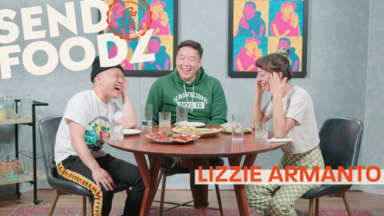Tim and David Eat From Lizzie Armanto's Favorite LA Restaurants | Send Foodz