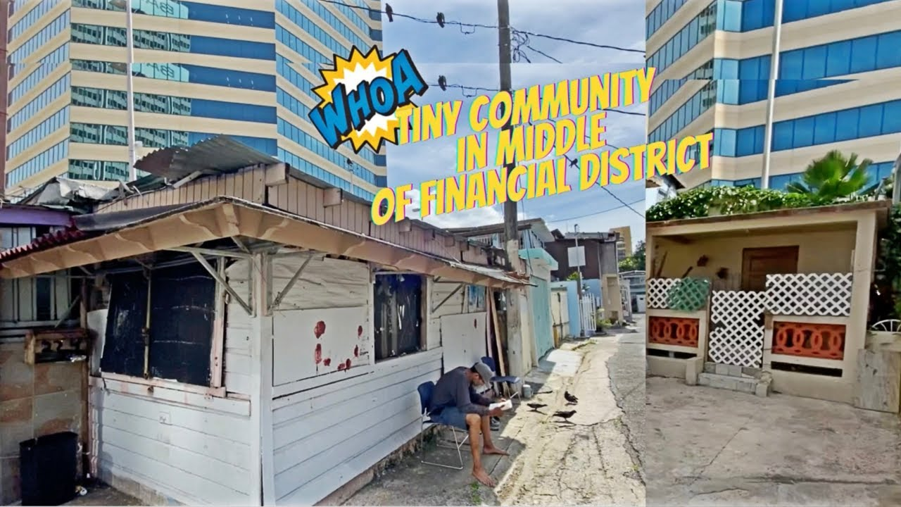 TINY community In the middle of Puerto Rico's Financial District | Pequeña Barrio