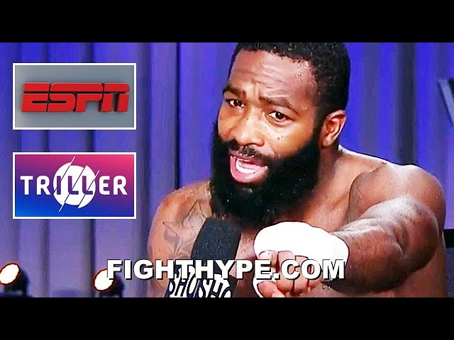 """""""TIRED OF THIS SH*T"""" - ADRIEN BRONER VENTS FRUSTRATIONS; THREATENS TO JUMP SHIP TO ESPN OR TRILLER"""