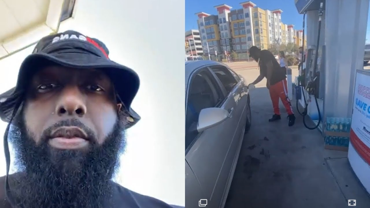 TRAE THA TRUTH GIVES FREE GAS, FOOD AND WATER TO 250 HOUSTON FAMILIES AFFECTED BY THE WEATHER
