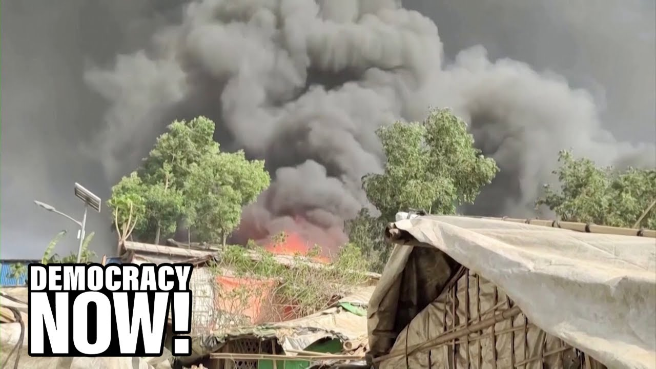 """""""Tragic Moment"""": Rohingya Suffer New Blow as Cox's Bazar, World's Largest Refugee Camp, Burns Down"""
