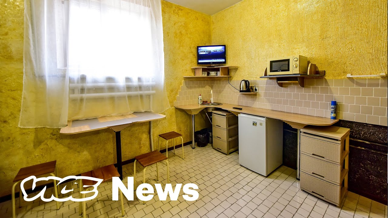 Ukraine is Selling Gift Certificates for More Comfortable Jail Cells