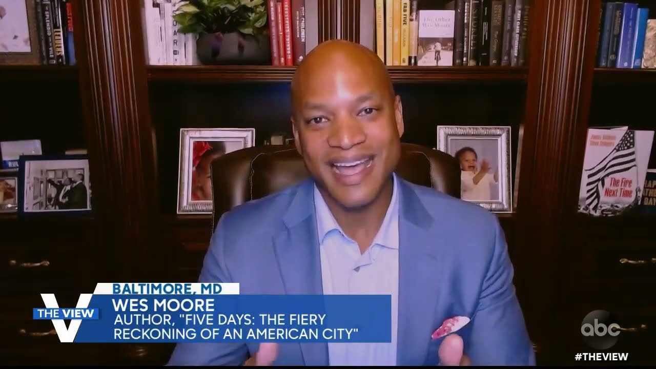 Wes Moore Discusses Importance Of Creating Equitable And Safe Policing Mechanisms | The View