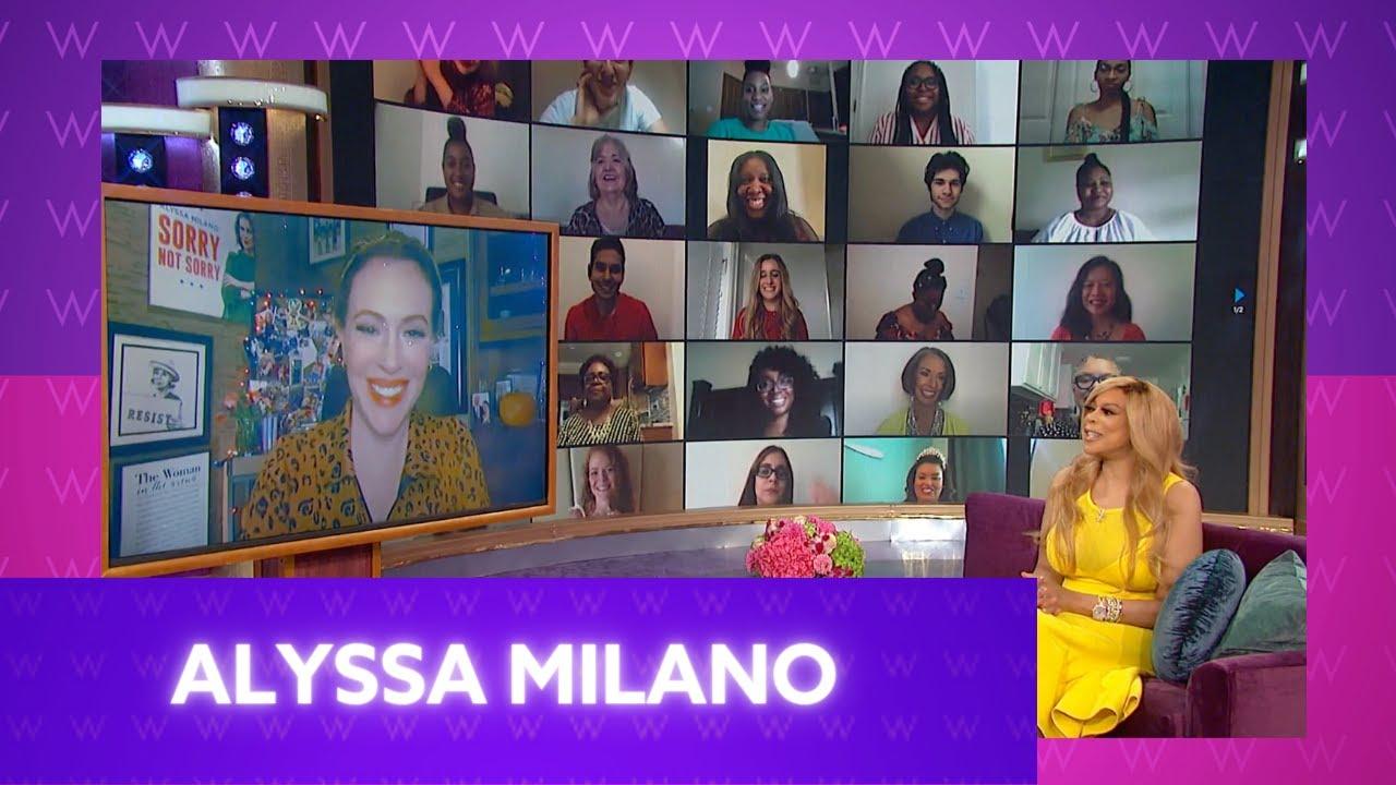 Alyssa Milano's COVID Scare!