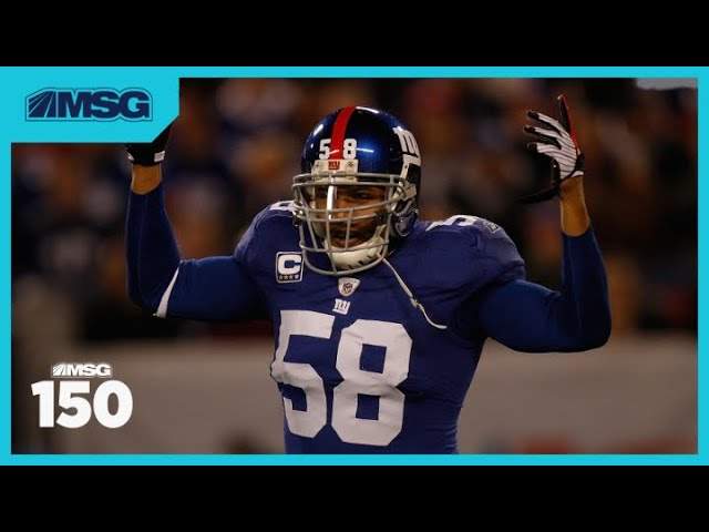 Antonio Pierce Talks Super Bowl Win Over New England Patriots with New York Giants in 2007 | MSG 150