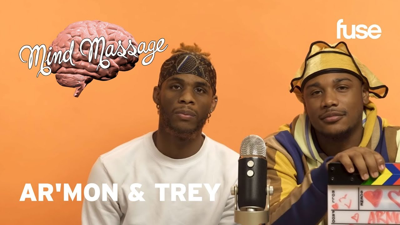 Ar'mon & Trey Do ASMR With Silly Putty, Talk 90s R&B and Musical Inspiration   Mind Massage   Fuse
