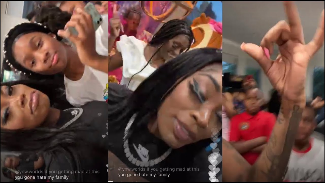 Asian Doll Performs Lil Durk Pooh Shiesty Back In Blood At Kids Party