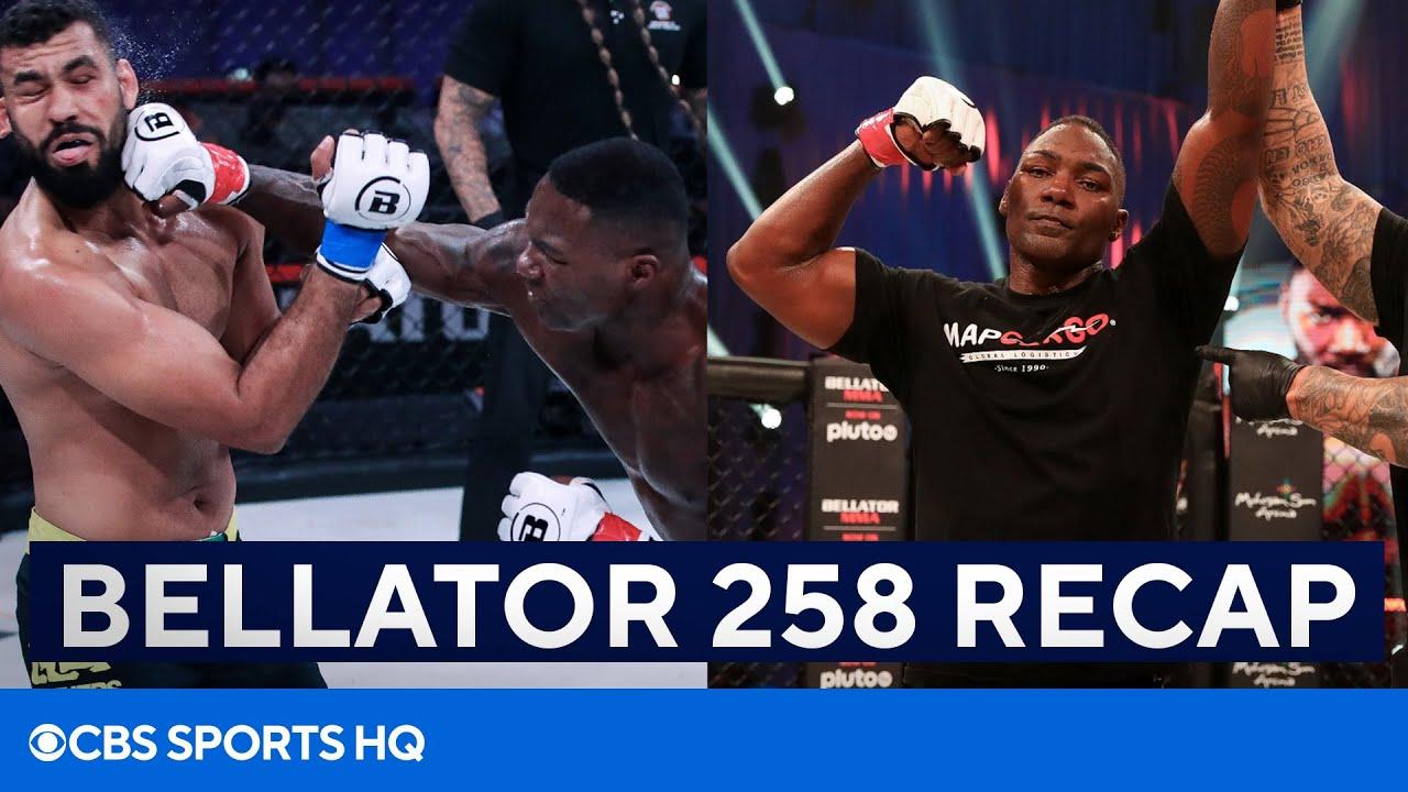 "Bellator 258 Recap: Anthony ""Rumble"" Johnson Scores HUGE KO | CBS Sports HQ"