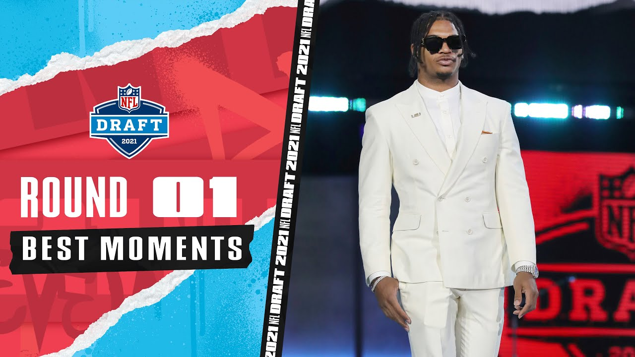 Best moments from the 1st round of the 2021 NFL Draft