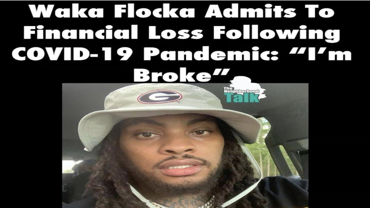 Breaking News Waka Flocka Admits He Broke? Callers Go Off M.Reck Live