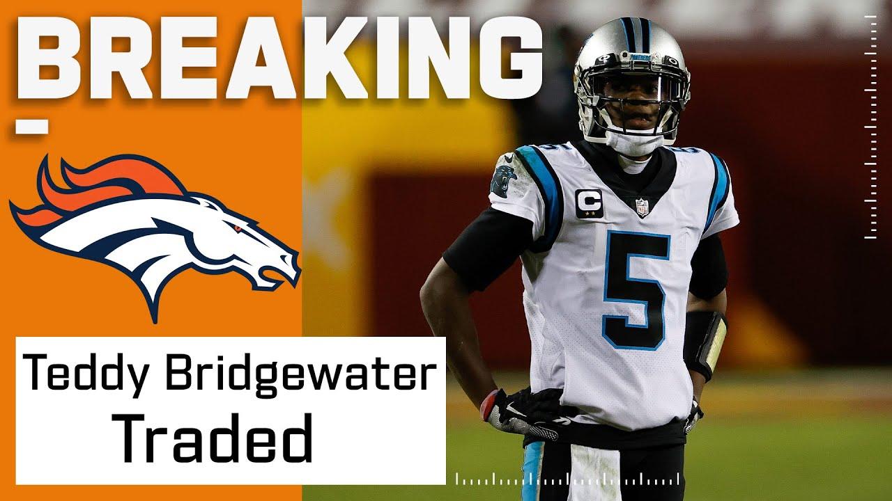 BREAKING: Teddy Bridgewater Traded to Denver