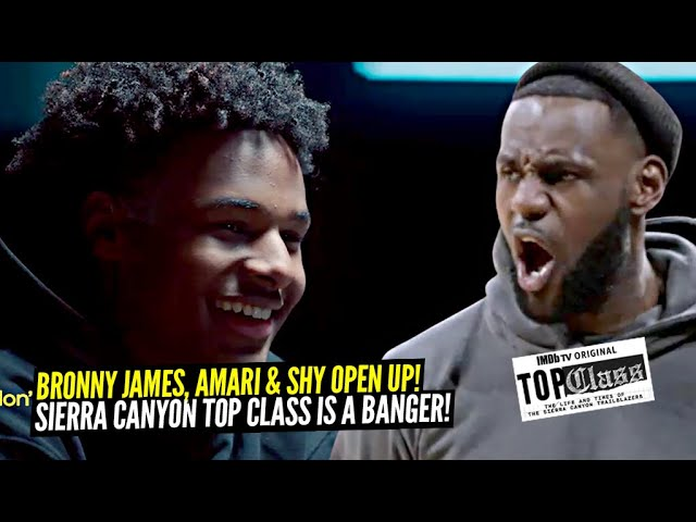 """Bronny James OPENS UP About Hitting Game Winner vs LeBron OLD High School! Sierra Canyon """"Top Class"""""""